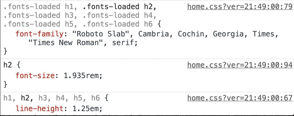 Using Font Face Observer to optimise font-loading in a